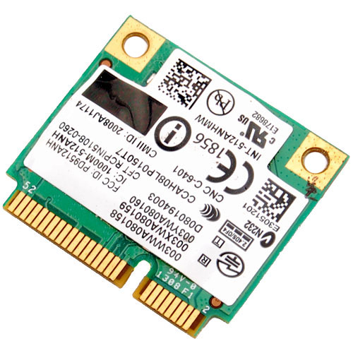 INTEL PRO WIRELESS 5100 MINI PCI EXPRESS