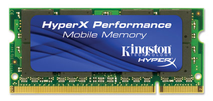 4 GB HYPERX 800MHz DDR2 SODIMM (2 X 2GB) (KINGSTON)