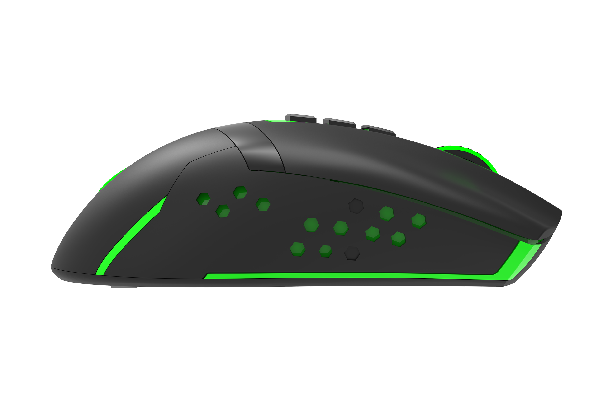 Monster Pusat V9 Wireless Gaming Mouse