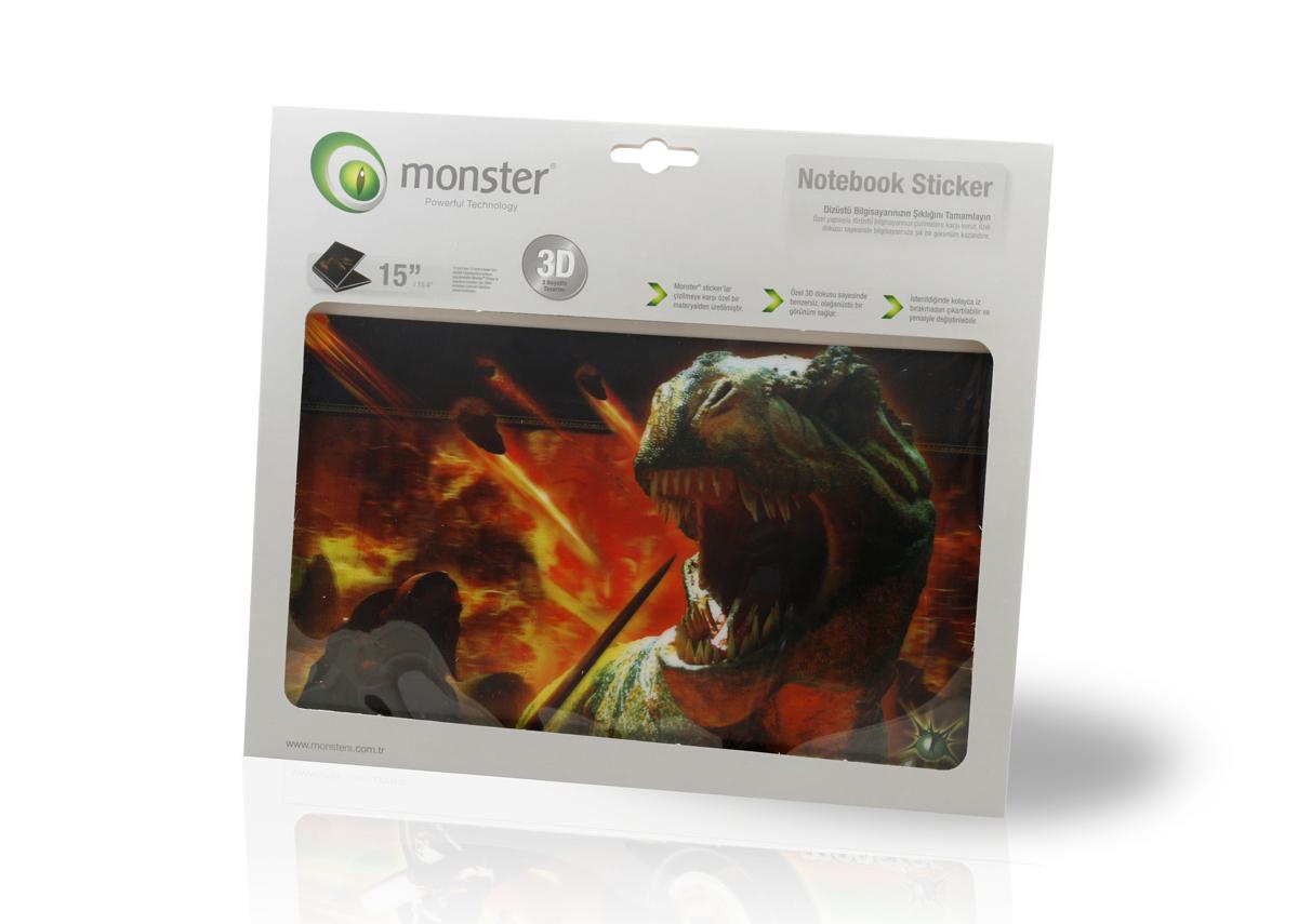MONSTER Notebook Koruyucu Etiketi TREXXX