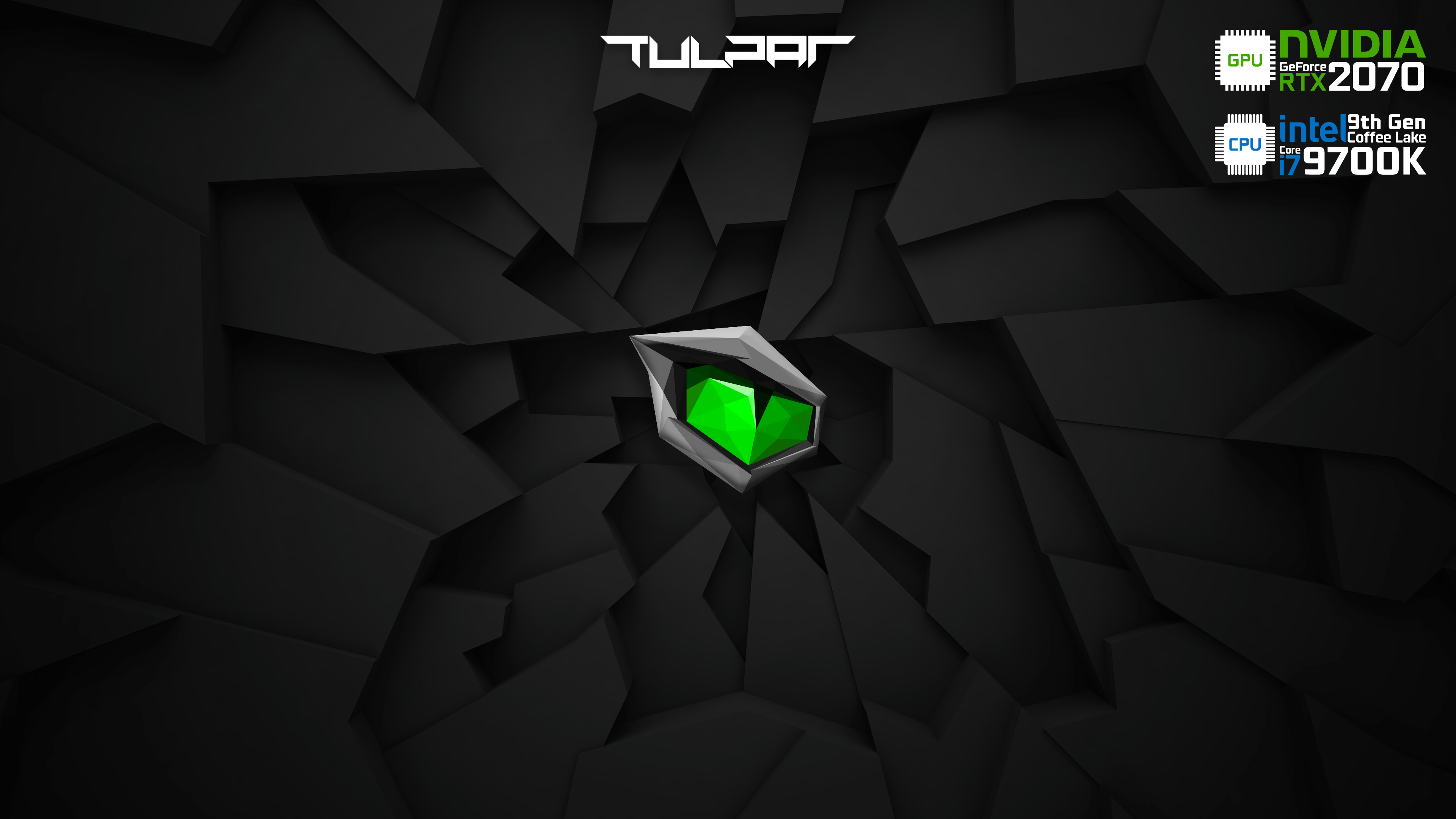 Monster - Tulpar - RTX 2070 - i7 9700K