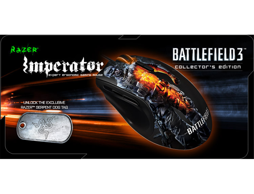 RAZER BATTLEFIELD 3 - IMPERATOR 2012 MOUSE