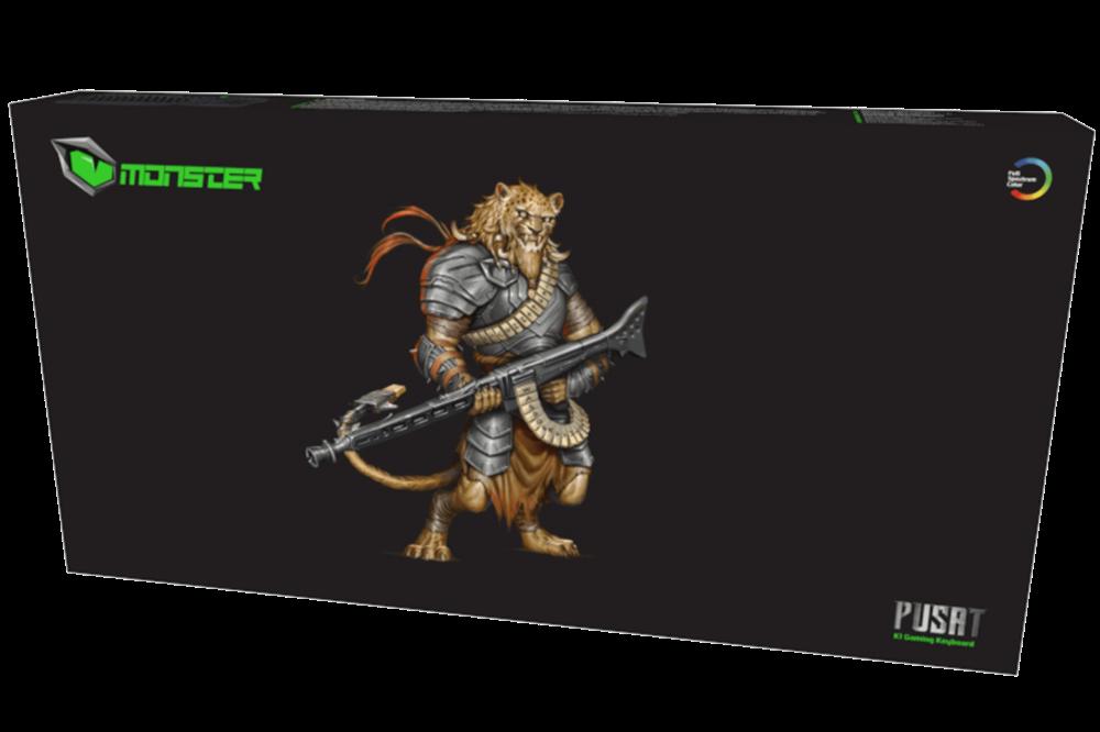 Monster Pusat K1 Mechanical Gaming Keyboard