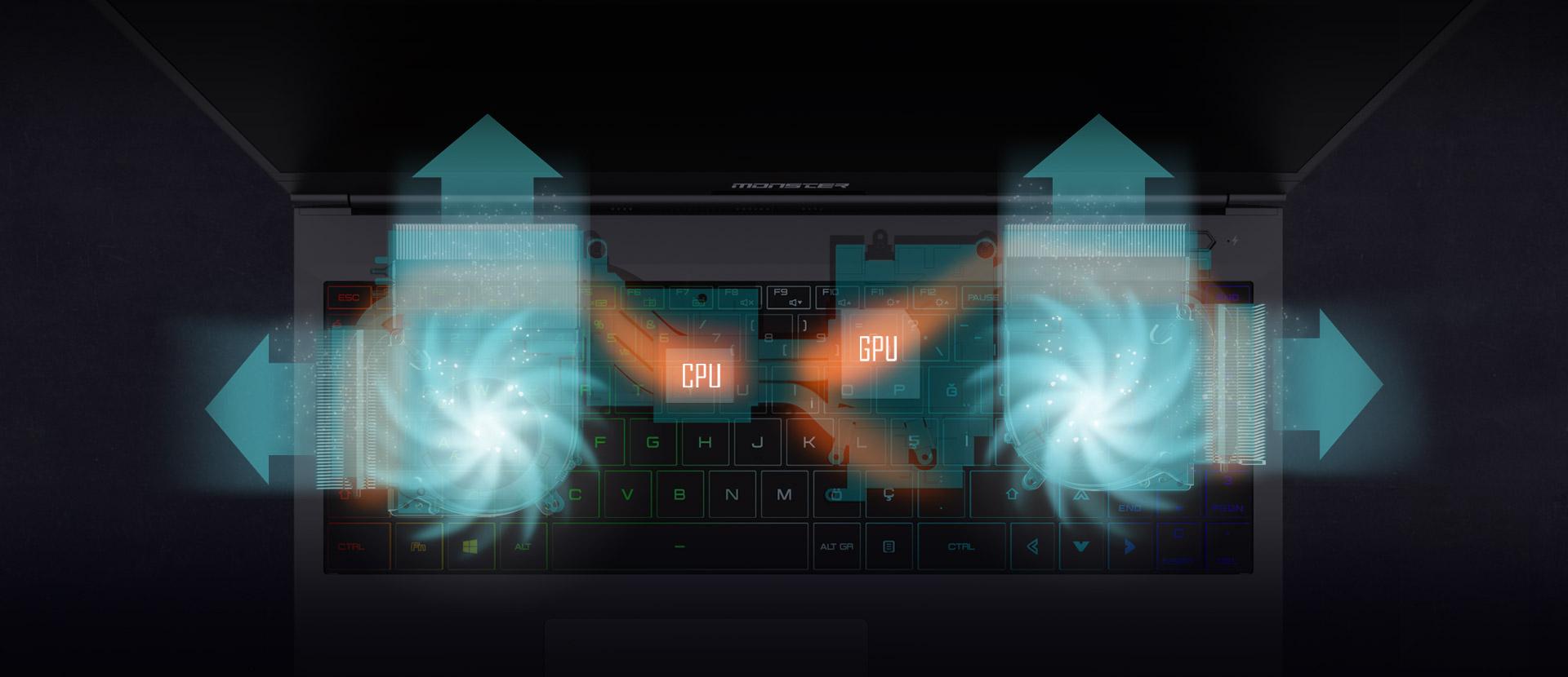 Monster Notebook TULPAR T5 V21.3